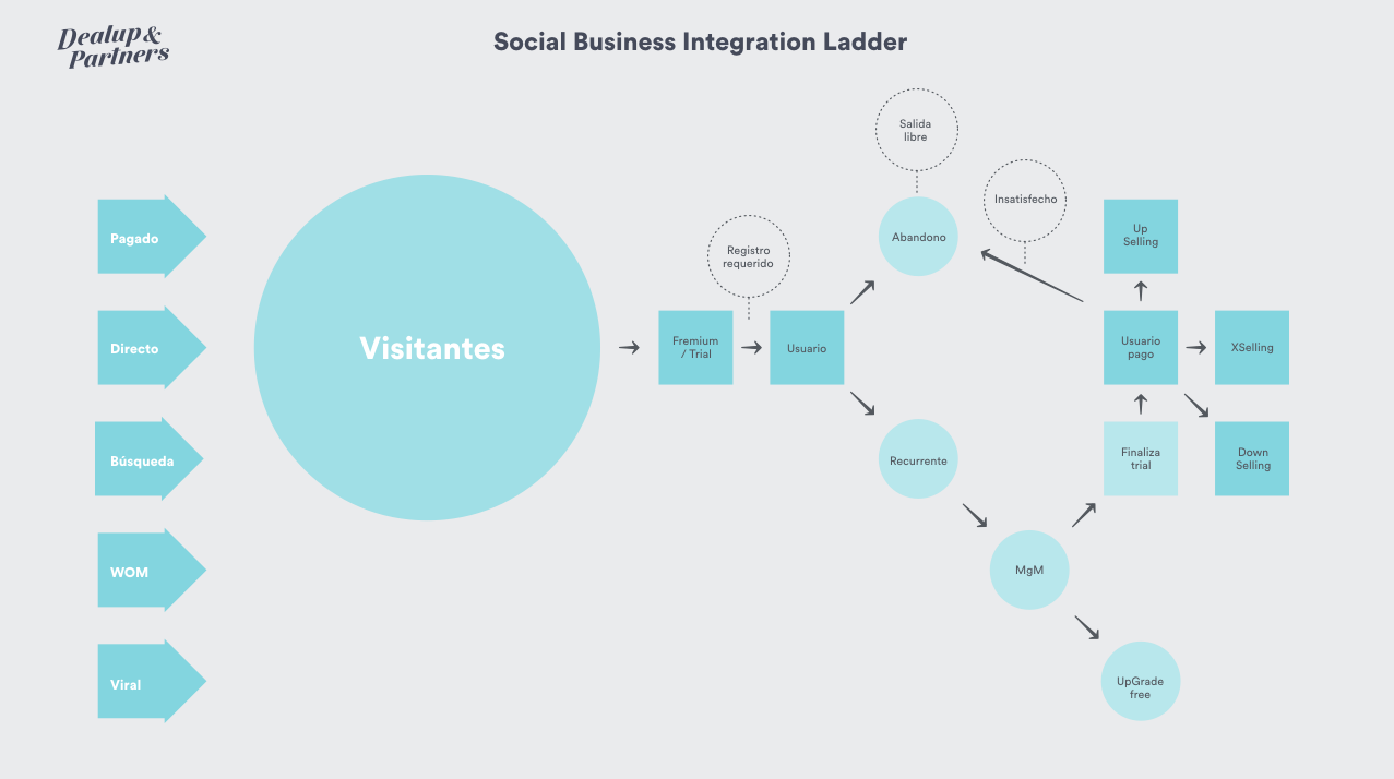 Social Business Integration Ladder